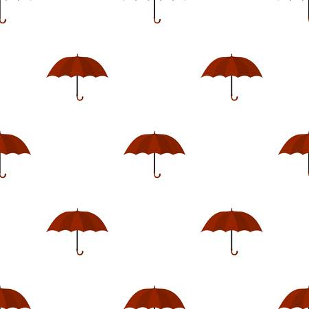 cartoon umbrella: Umbrella icon in cartoon style isolated on white background. England country symbol stock vector illustration. Illustration