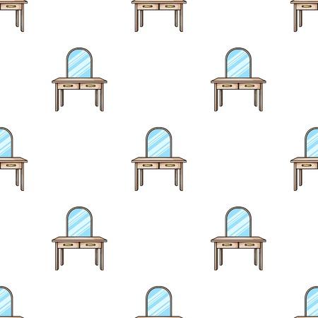 Klapbord icoon in cartoon stijl geïsoleerd op een witte achtergrond. Meubels en huis interieur symbool vector illustratie. Stock Illustratie