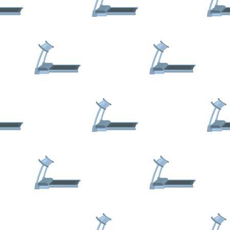 Treadmill seamless pattern