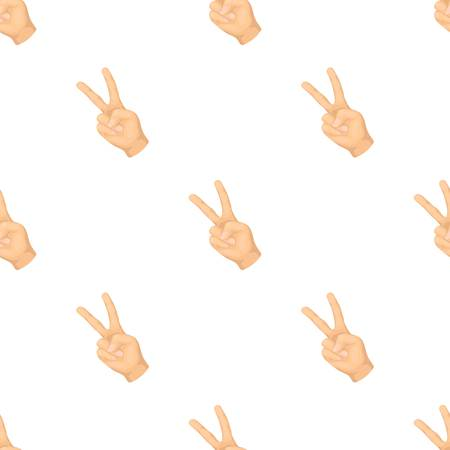 control of body movement: Peace symbol gesture.Hippy single icon in cartoon style vector symbol stock illustration .