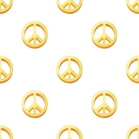 The icon of the world.Hippy single icon in cartoon style vector symbol stock illustration . Illustration