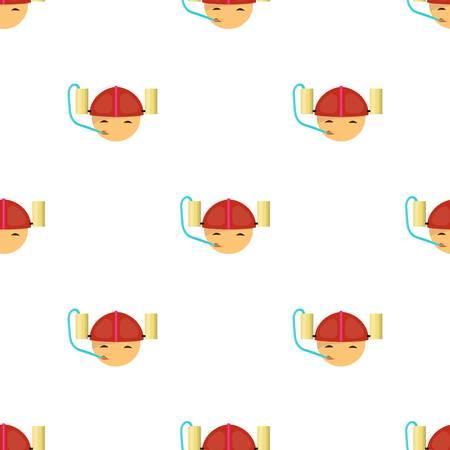Beer helmet icon in cartoon design isolated on white background. Pub symbol stock vector illustration.