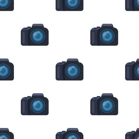 to commit: Camera detective. Camera, for shooting the scene, and to commit murder.Detective single icon in cartoon style vector symbol stock web illustration.