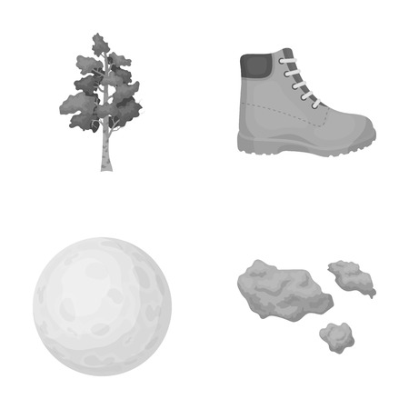 business, textiles, ecology and other  icon in monochrome style.sky, clouds, travel icons in set collection.
