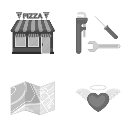 A tourism, restaurant, Business and other  icon in monochrome style.love, wedding, relationship, icons in set collection illustration.