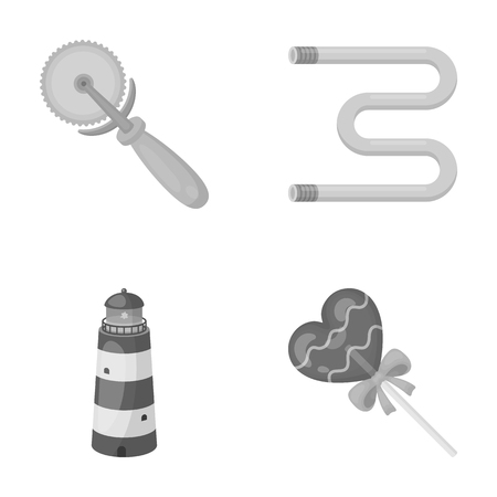 business, travel, cooking and other  icon in monochrome style. stick, sweetness, dessert icons in set collection.
