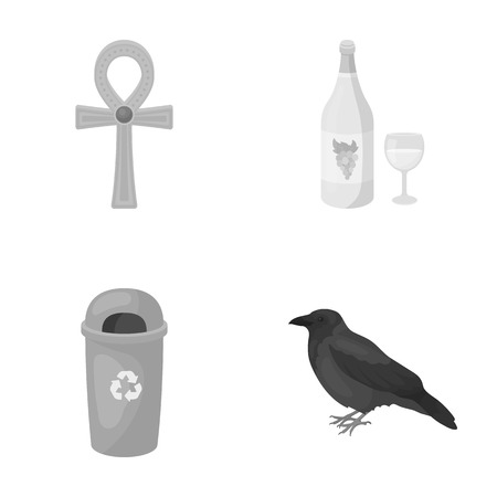 nature, business, ecology and other web icon in monochrome style.wintering, rest, trade, icons in set collection.