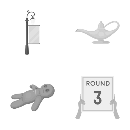 street lamp: ring, sport, businesshands and other web icon in monochrome style., Round, competition icons in set collection.