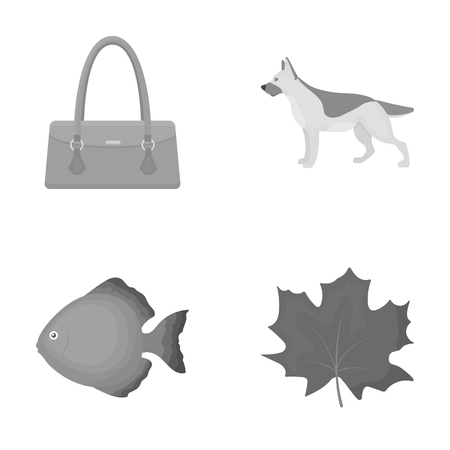 trade, business, leisure and other web icon in monochrome style., Maple, oxygen, ecology icons in set collection.