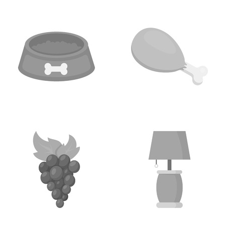 business, trade, restaurant and other web icon in monochrome style.lamp, lighting, design icons in set collection.