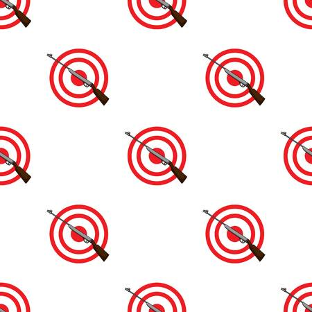 Weapon and target. Shooting gallery in an amusement park.Amusement park single icon in cartoon style vector symbol stock illustration.