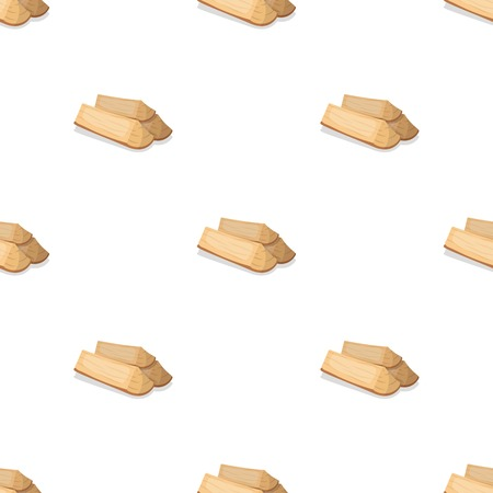 Chopped firewood.BBQ single icon in cartoon style vector symbol stock illustration web.