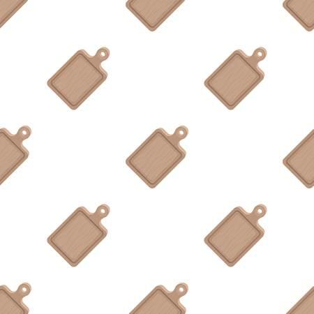 Cutting board.BBQ single icon in cartoon style vector symbol stock illustration .