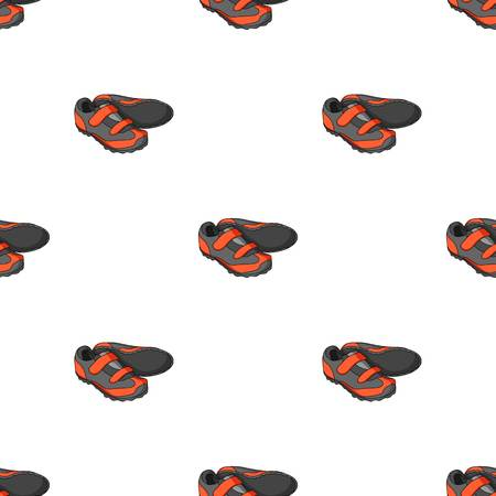 Shoes for cyclists. Special cycling for cycling.Cyclist outfit single icon in cartoon style vector symbol stock illustration.