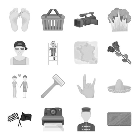 cleanliness: Sports, beauty, shopping and other web icon in monochrome style.Travel, mourning, cleanliness icons in set collection. Illustration