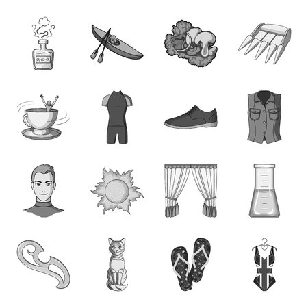 Sewing, sport, travel and other web icon in monochrome style. Fashion, beauty, education icons in set collection.