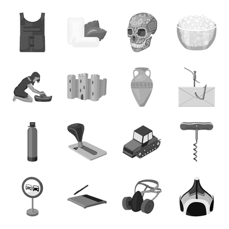 Computer, transportation, army and other  icon in monochrome style.Parking, food, dentistry icons in set collection.