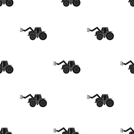 Combine with long hydraulic legs to capture the hay.Agricultural Machinery single icon in black style vector symbol stock illustration. Illustration