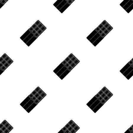 Chocolat belge. Le loup belge noir. Icône unique de la Belgique en stock illustration de style vecteur noir Banque d'images - 83612896