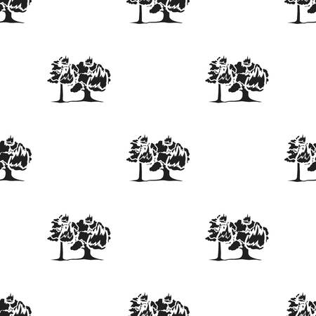 charred: Forest fire vector icon in black style for web