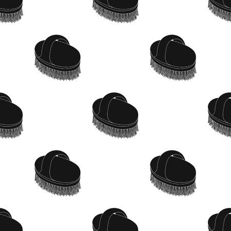 Animal brush.Pet shop single icon in black style vector symbol stock illustration web.