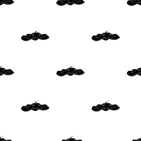 Stingray icon in black design isolated on white background. Sea animals symbol stock vector illustration.