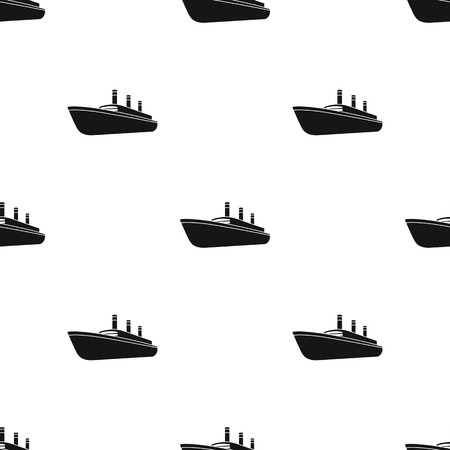 thunderstorms: Huge cargo black liner.Ship for transportation of heavy thunderstorms on the sea and the ocean .Ship and water transport single icon in black style vector symbol stock web illustration. Illustration