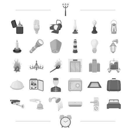 rest, trip, business and other web icon in black style.appliances, plumbing, equipment, icons in set collection.
