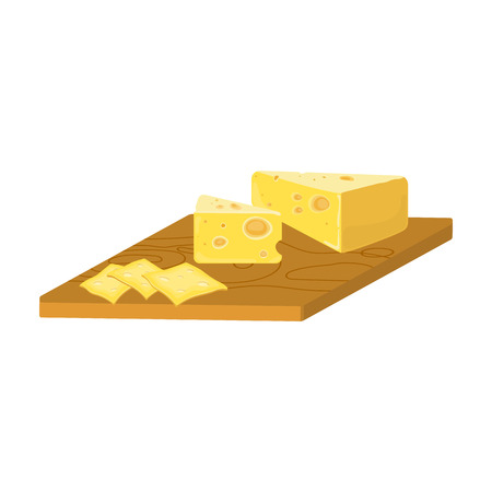 Cheese, single icon in cartoon style.Cheese vector symbol stock illustration web.