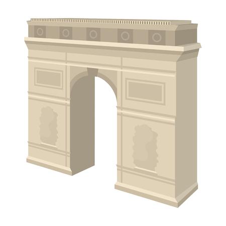 triumphal: Arc de Triomphe icon.