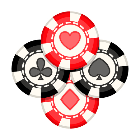 Casino chips icon.