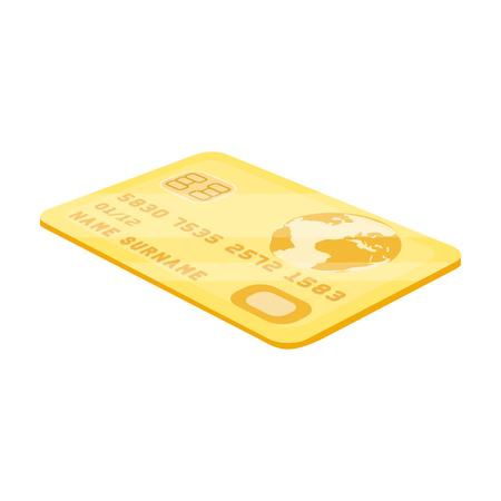 Icono de la tarjeta de crédito Foto de archivo - 84981591