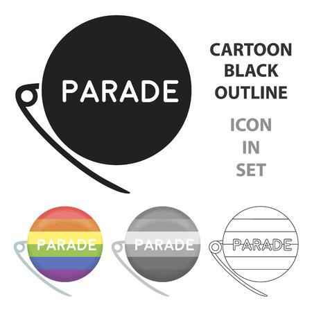 ジェンダー差別パレード アイコンはありません。  イラスト・ベクター素材