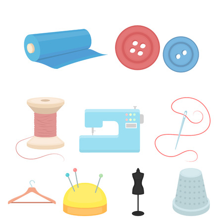 Atelie set icons in cartoon style. Big collection of atelie vector symbol stock illustration