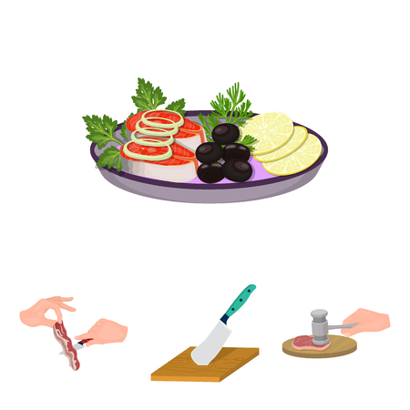 Eating and cooking set collection.