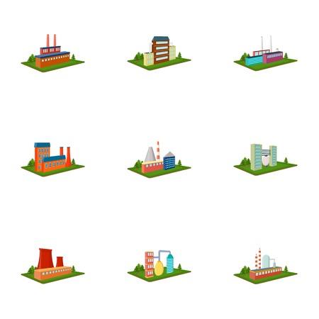 Processing fabriek, metallurgische fabriek en andere productie.