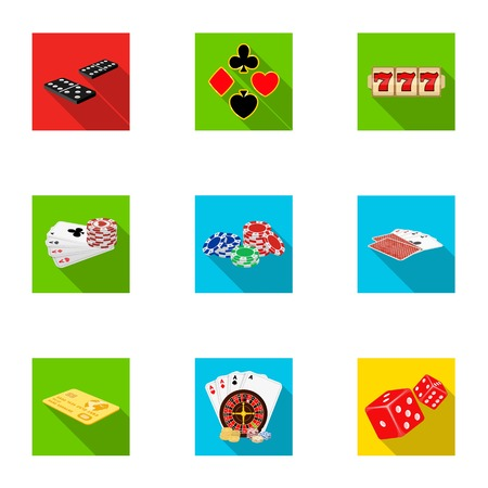 pica: Hobby, entertainment, recreation and other web icon in flat style., Winning, excitement, casino, icons in set collection.