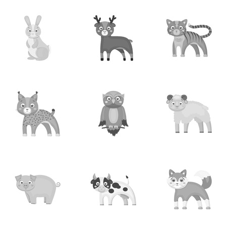lapin: Zoo, toys, hunting and other web icon in monochrome style.Forest, nature, farm, icons in set collection.