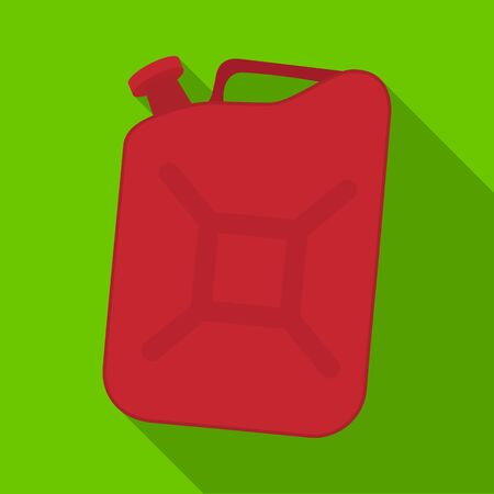 Canister single icon in flat style