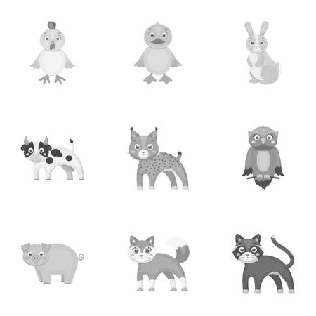 lapin: Farm, zoo, ecology and other  icon in monochrome style.Marsupial, Australia, nature icons in set collection.