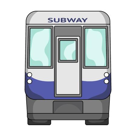 Wagon, single icon in cartoon style.Wagon vector symbol stock illustration . Illustration