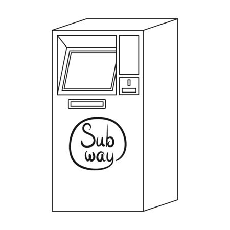Apparatus, single icon in outline style.Apparatus vector symbol stock illustration web. Иллюстрация