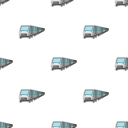 Tren, icono único en estilo de dibujos animados. Tren, símbolo de vectores stock photo.