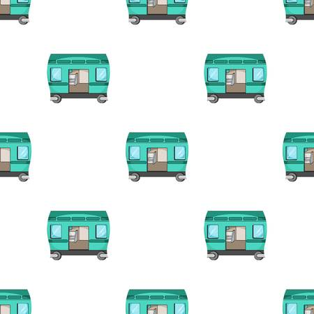 Wagon, single icon in cartoon style.Wagon vector symbol stock illustration web.