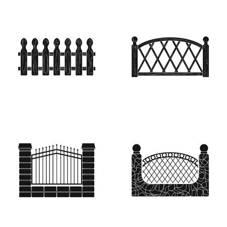 A different fence set collection.