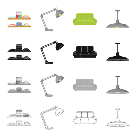 lamp shade: Office, supplies, equipment and other  icon