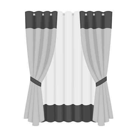Lambruck single icon in monochrome style.Lambruck, vector symbol stock illustration web.