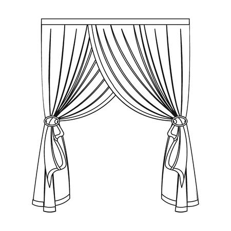 Lambruck single icon in outline style.Lambruck, vector symbol stock illustration .