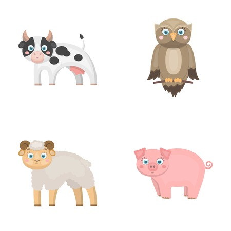Forest, ecology, toys and other  icon in cartoon style.Animals, farm, enterprises icons in set collection. Illustration