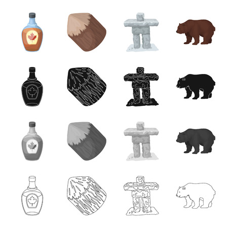 connecting rod: Forest, nature, ecology, and other  icon in cartoon style.Bottle, cognac, glass icons in set collection Illustration